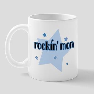 Rockin' Mom [blue] Mug